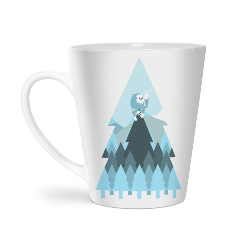 First day of winter Accessories Latte Mug by Cristóbal Urrea