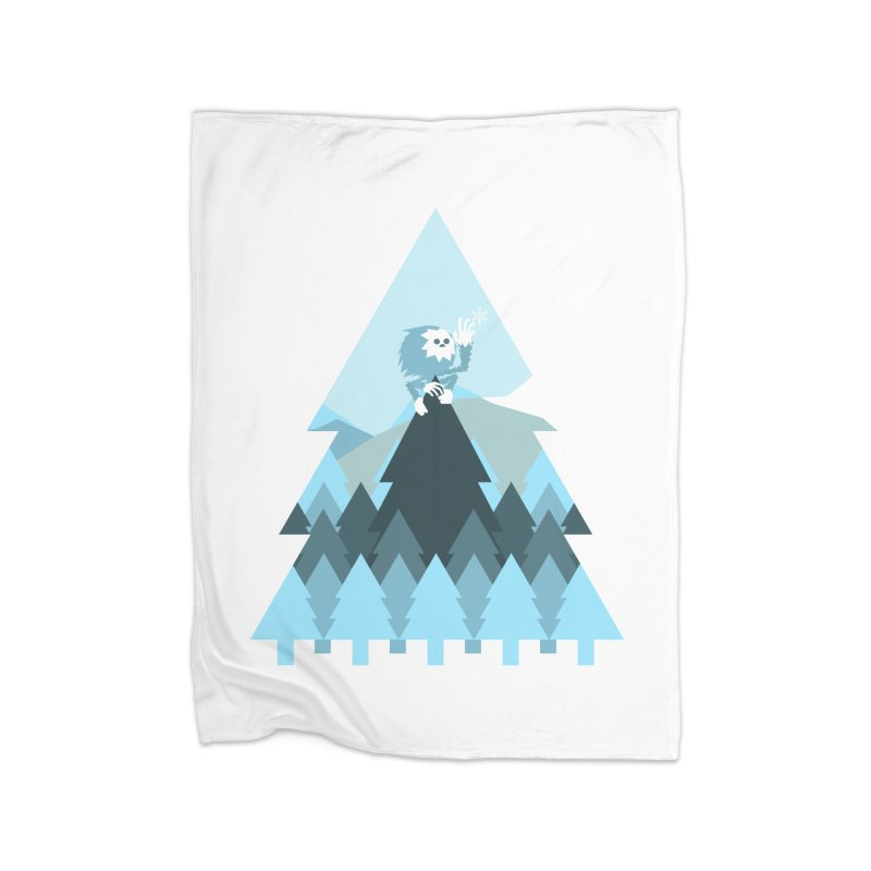 First day of winter Home Blanket by 3lw's Artist Shop