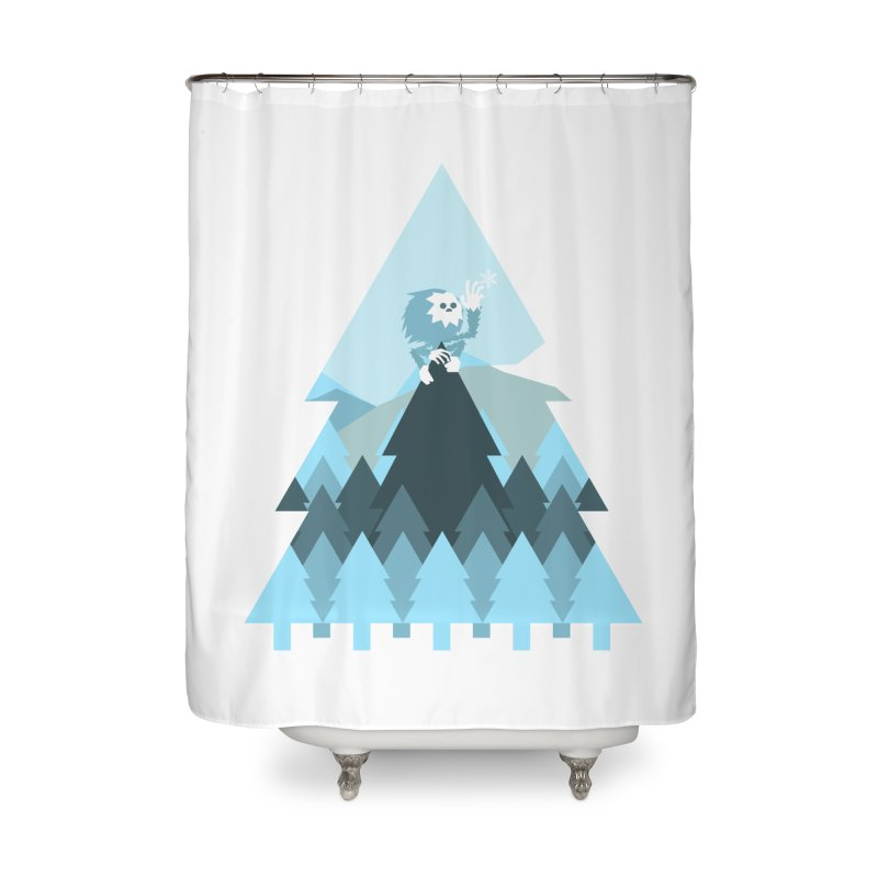 First day of winter Home Shower Curtain by Cristóbal Urrea