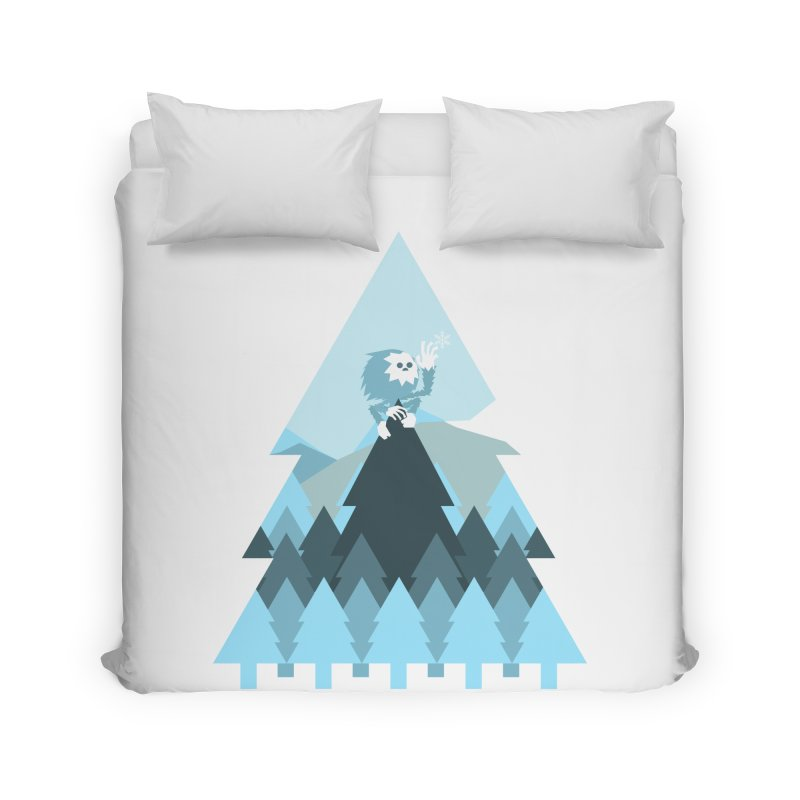 First day of winter Home Duvet by 3lw's Artist Shop