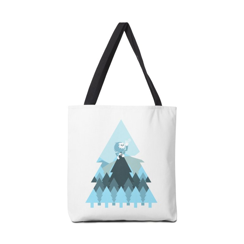 First day of winter Accessories Bag by 3lw's Artist Shop