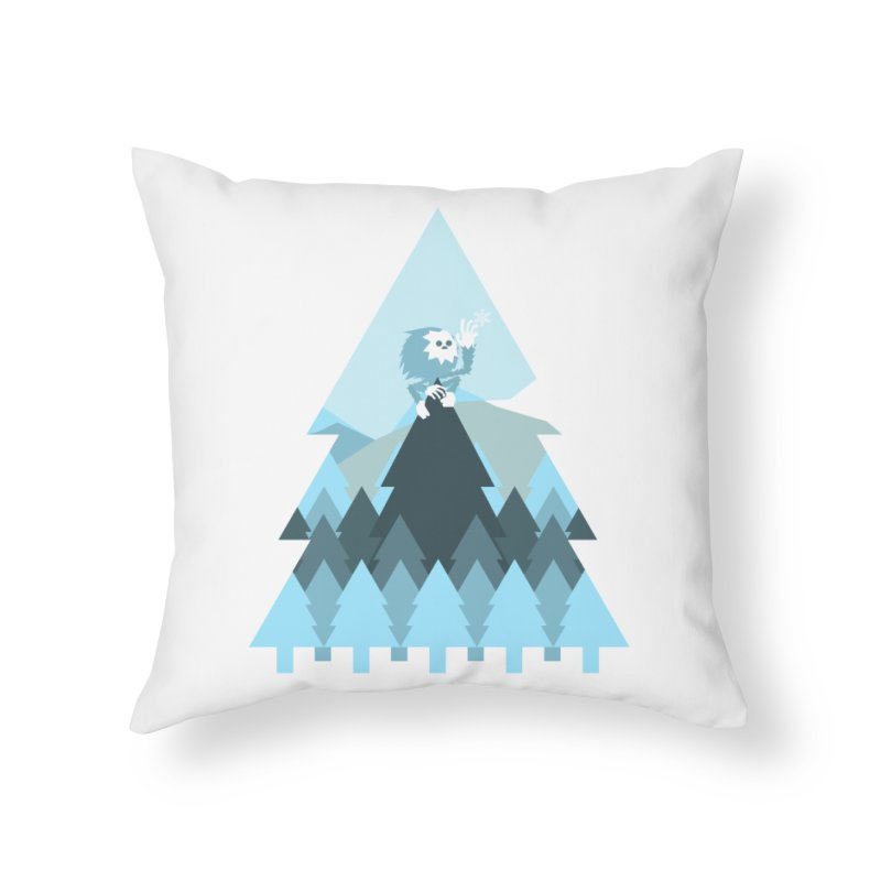 First day of winter Home Throw Pillow by 3lw's Artist Shop