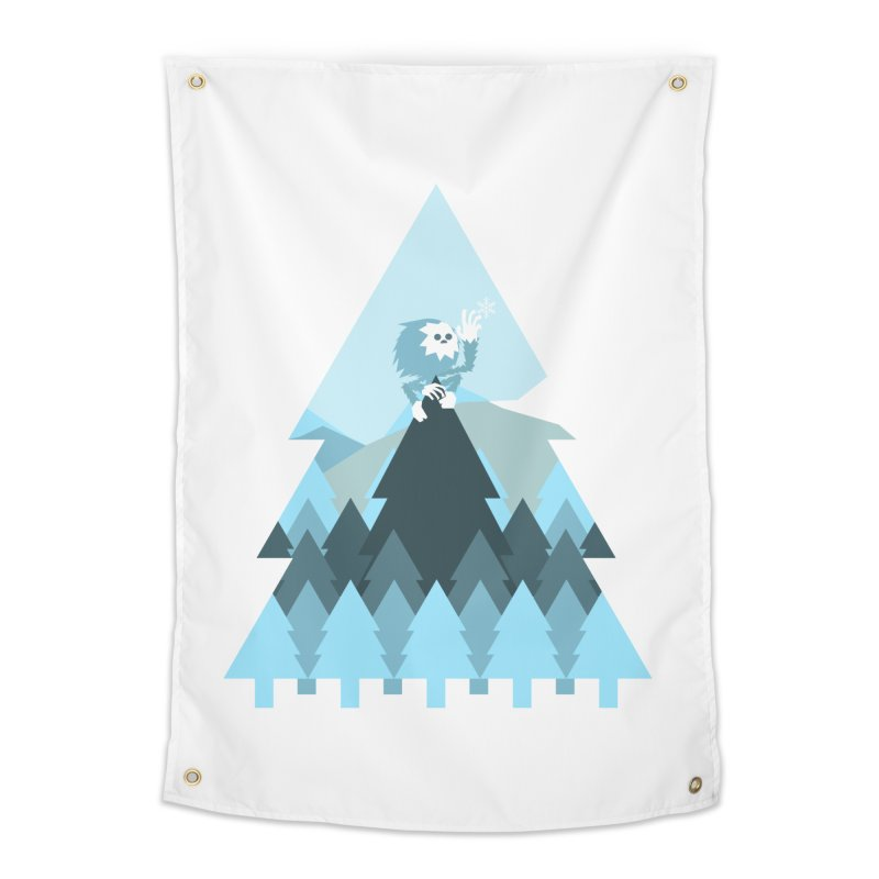 First day of winter Home Tapestry by 3lw's Artist Shop