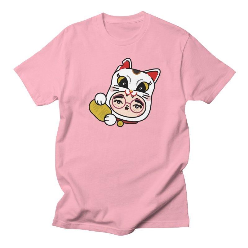 Lucky cat Men's T-Shirt by 3lw's Artist Shop