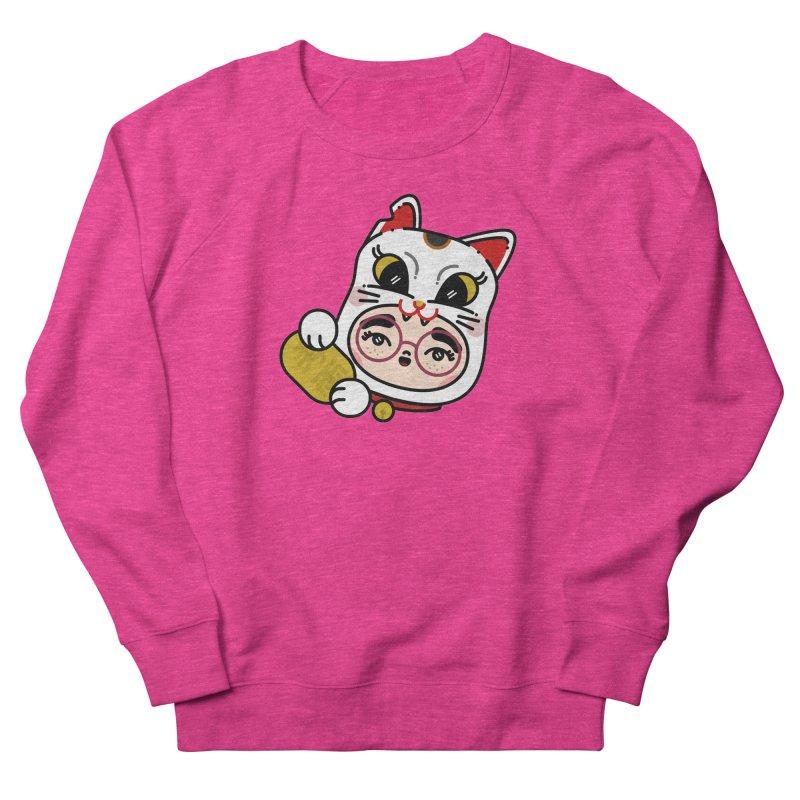 Lucky cat Women's Sweatshirt by 3lw's Artist Shop