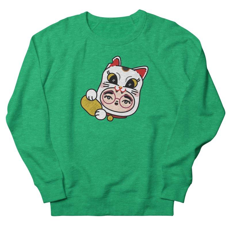 Lucky cat Men's Sweatshirt by 3lw's Artist Shop