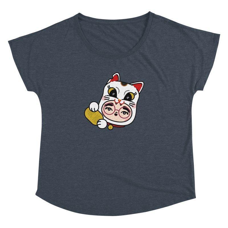 Lucky cat Women's Dolman by 3lw's Artist Shop