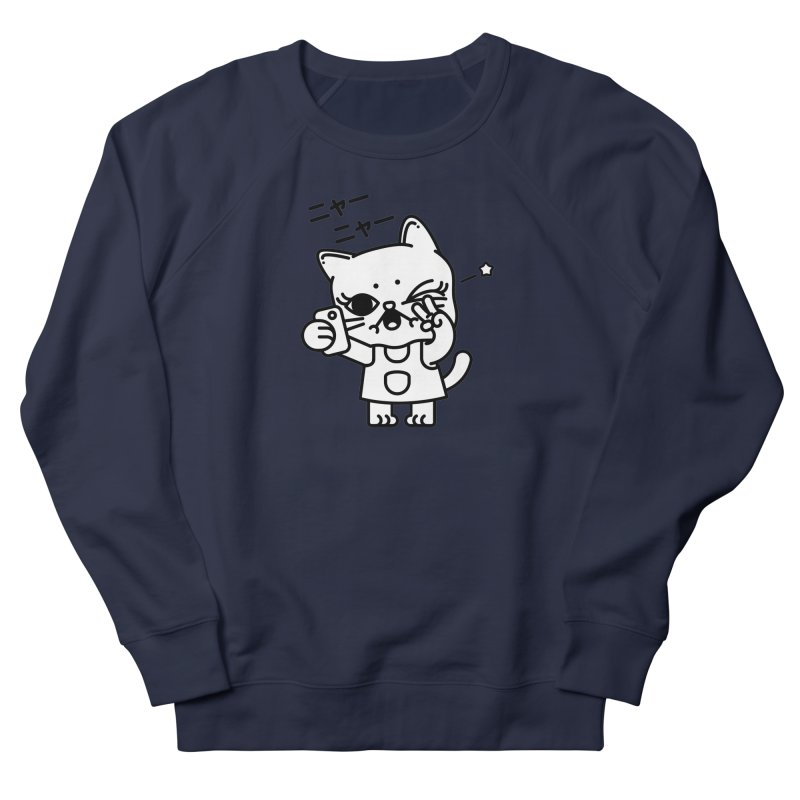 Selfie! Men's French Terry Sweatshirt by 3lw's Artist Shop