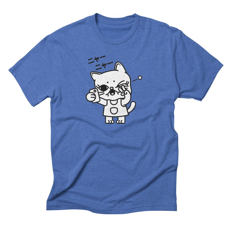 Selfie! Men's Triblend T-Shirt by Cristóbal Urrea