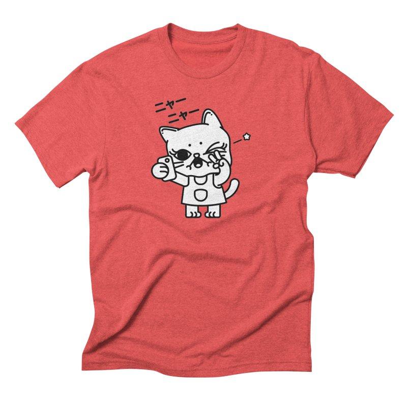 Selfie! Men's Triblend T-Shirt by Cristóbal Urrea