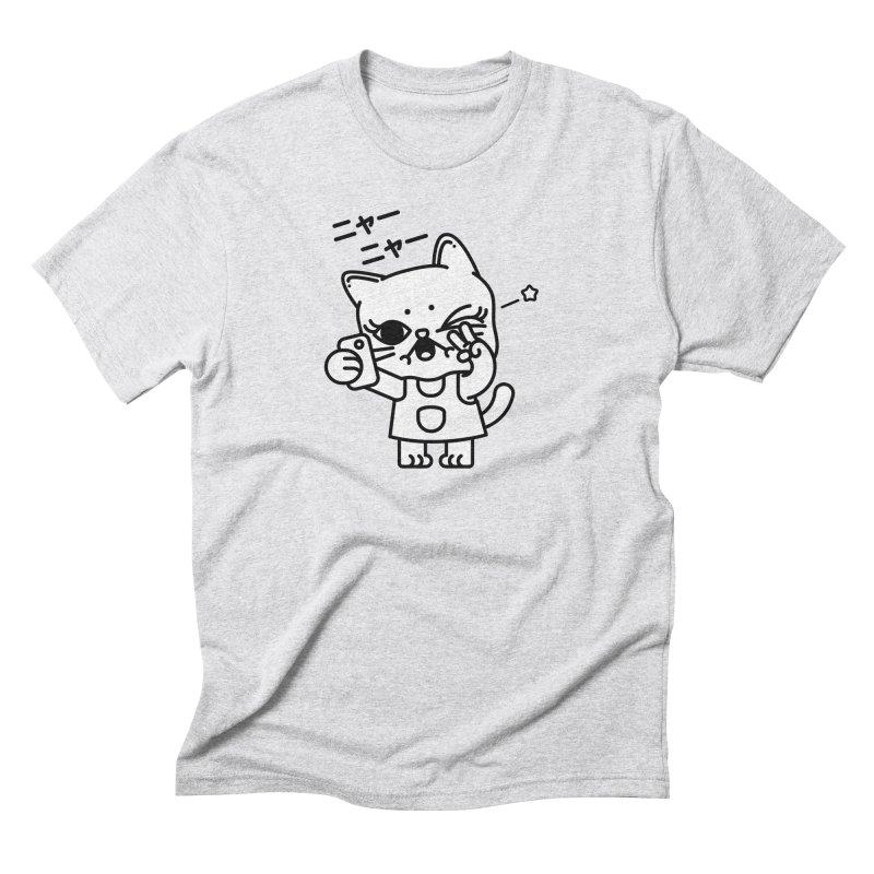 Selfie! Men's Triblend T-shirt by 3lw's Artist Shop
