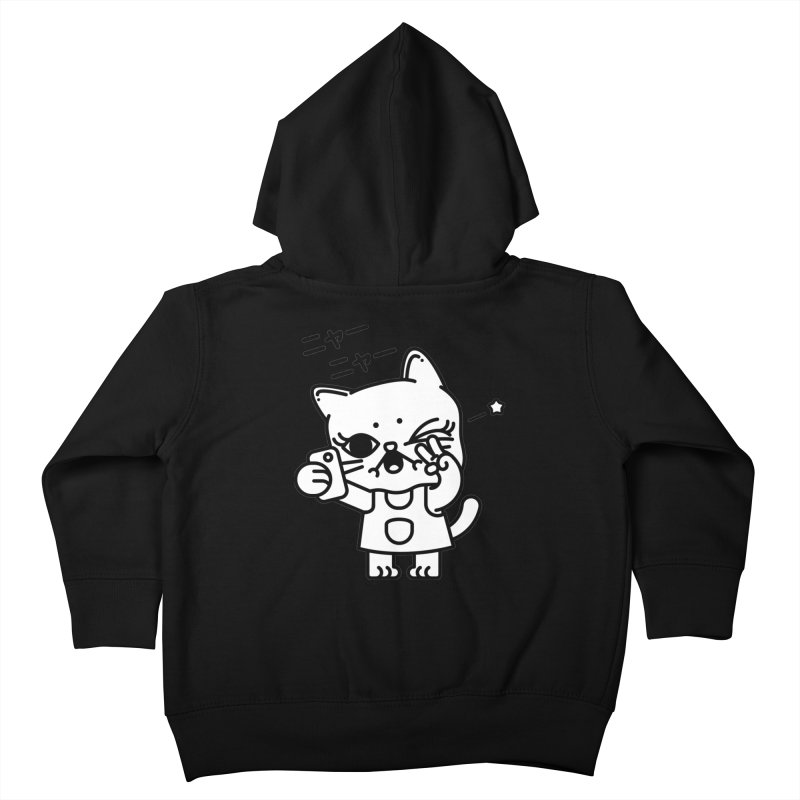 Selfie! Kids Toddler Zip-Up Hoody by 3lw's Artist Shop