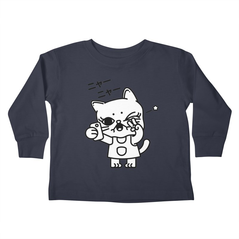 Selfie! Kids Toddler Longsleeve T-Shirt by 3lw's Artist Shop