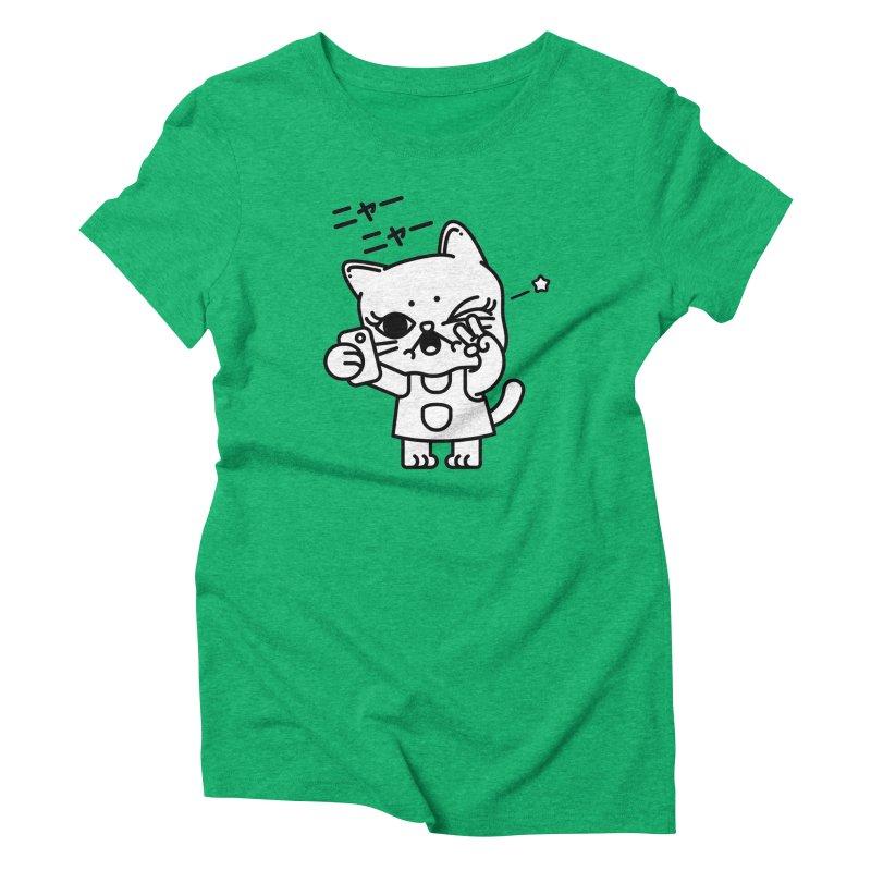 Selfie! Women's Triblend T-Shirt by 3lw's Artist Shop
