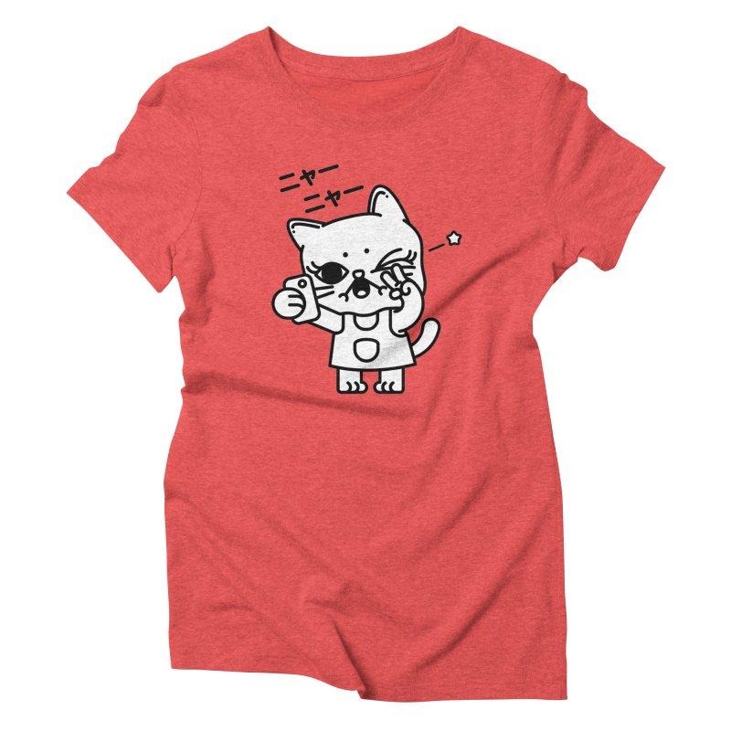 Selfie! Women's Triblend T-Shirt by Cristóbal Urrea