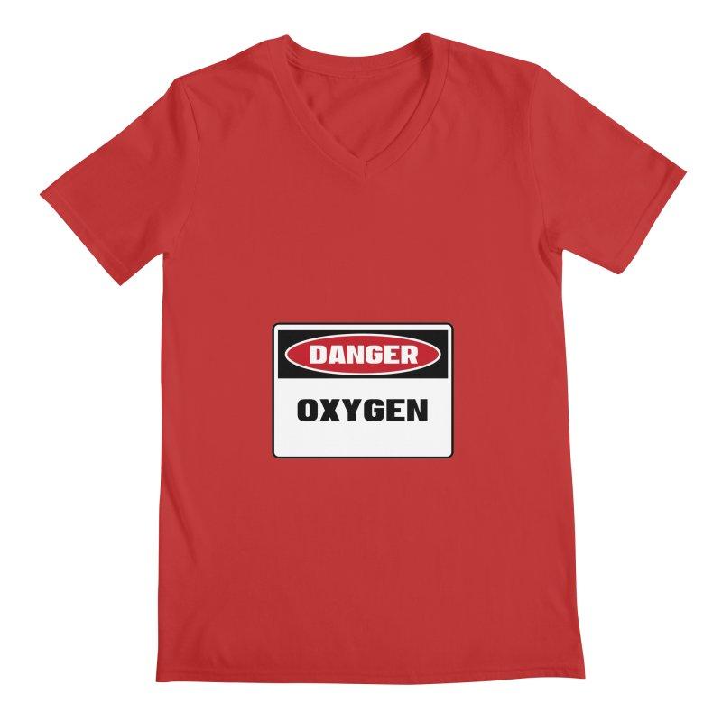Safety First DANGER! OXYGEN by Danger!Danger!™ Men's  by 3rd World Man