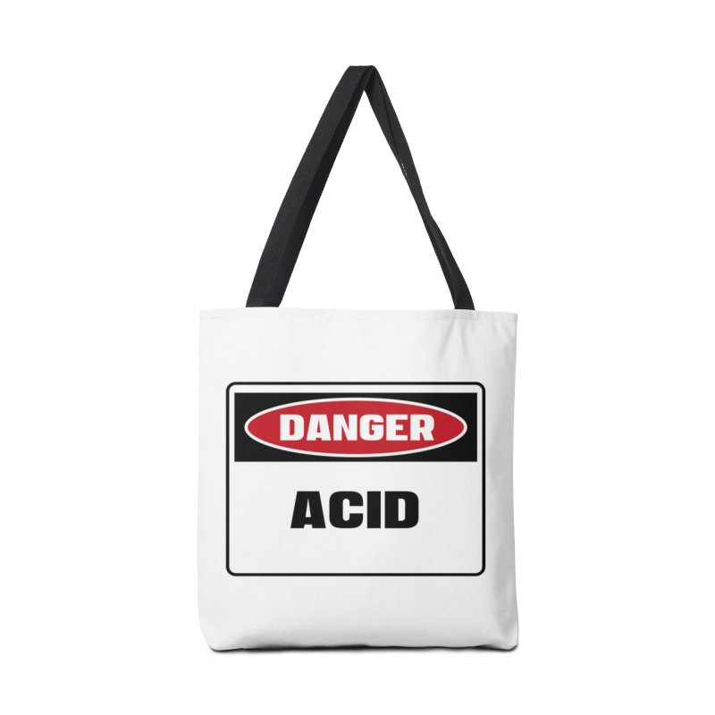 Safety First DANGER! ACID by Danger!Danger!™ Accessories Tote Bag Bag by 3rd World Man