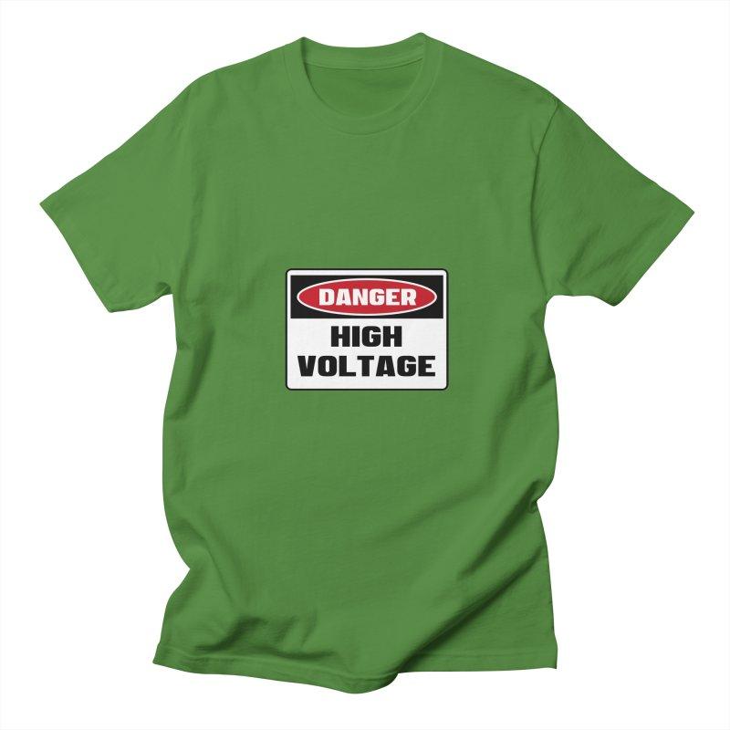 Safety First DANGER! HIGH VOLTAGE by Danger!Danger!™ Women's  by 3rd World Man
