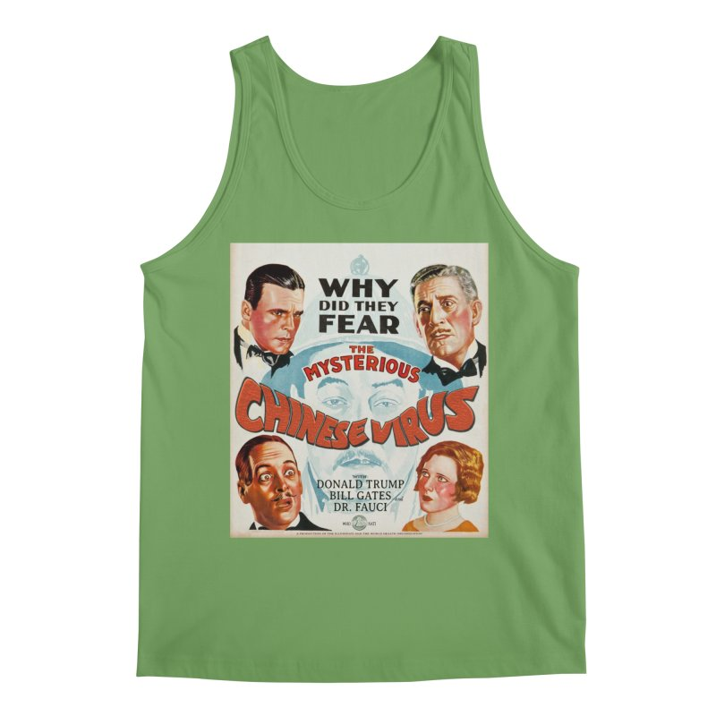 """""""Why Did They Fear The Mysterious Chinese Virus"""" by dontpanicattack!™ Men's Tank by 3rd World Man"""