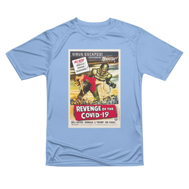 """""""Revenge Of The Covid-19 – Virus Escapes! City Flees In Terror!"""" by dontpanicattack!™ Men's T-Shirt by 3rd World Man"""