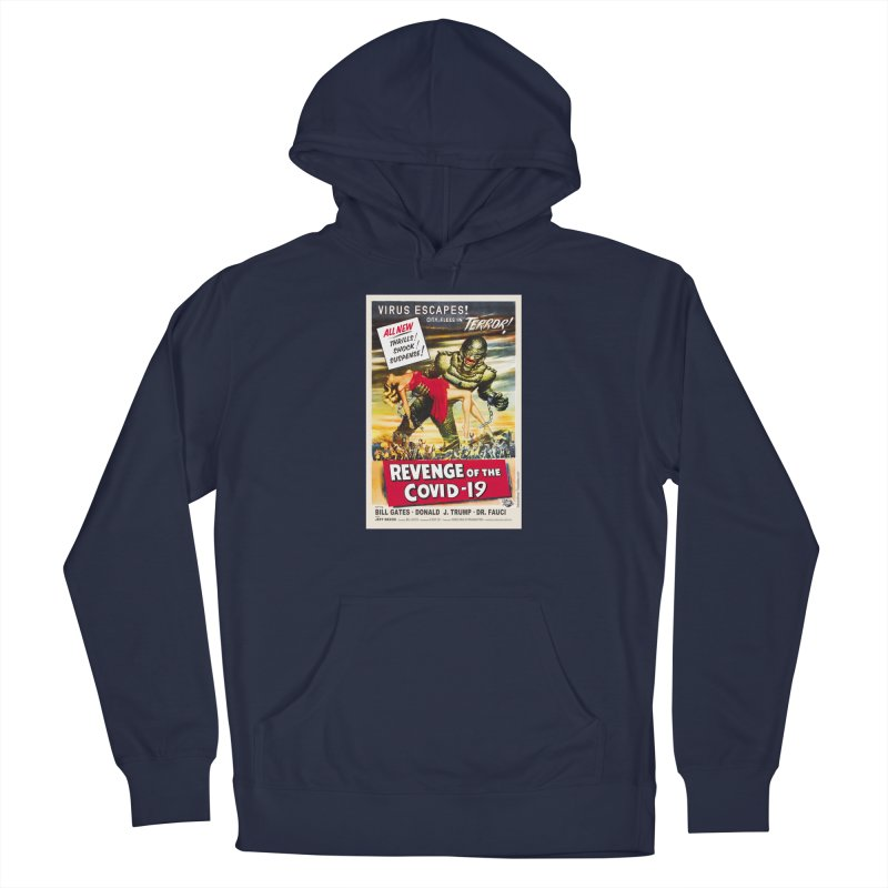 """""""Revenge Of The Covid-19 – Virus Escapes! City Flees In Terror!"""" by dontpanicattack!™ Men's Pullover Hoody by 3rd World Man"""