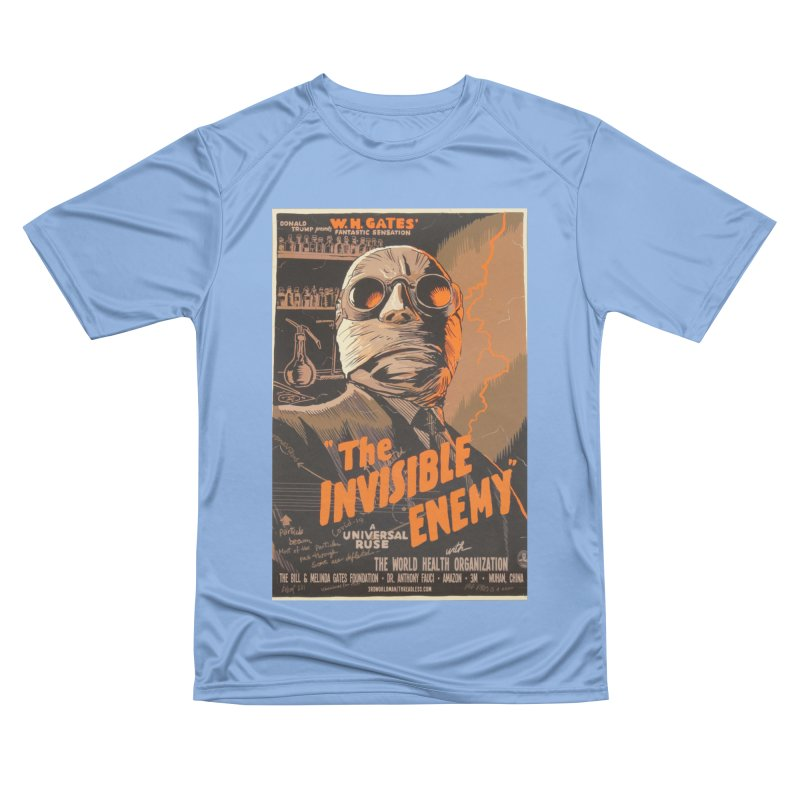 """""""Donald Trump presents W.H. Gates Fantastic Sensation: The Invisible Enemy"""" by dontpanicattack!™ Men's T-Shirt by 3rd World Man"""