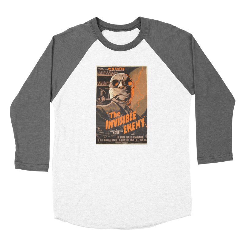 """""""Donald Trump presents W.H. Gates Fantastic Sensation: The Invisible Enemy"""" by dontpanicattack!™ Women's Longsleeve T-Shirt by 3rd World Man"""