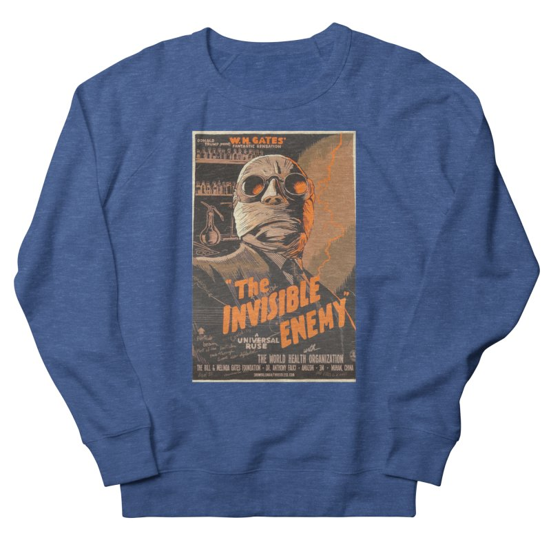 """""""Donald Trump presents W.H. Gates Fantastic Sensation: The Invisible Enemy"""" by dontpanicattack!™ Men's Sweatshirt by 3rd World Man"""