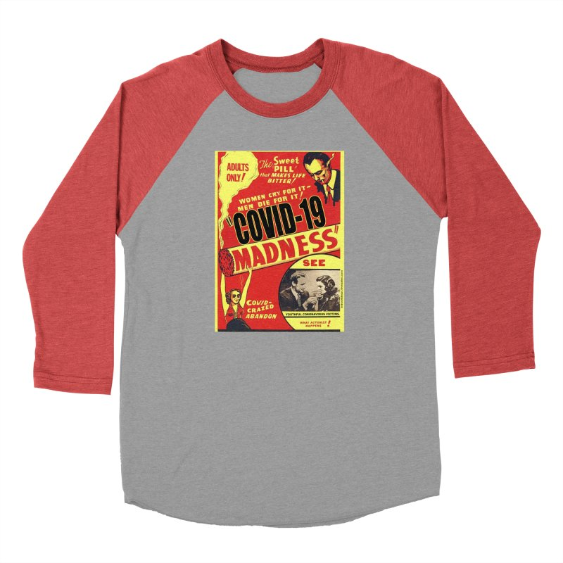 """""""Covid-19 Madness! Covid-Crazed Abandon!"""" by dontpanicattack!™ Men's Longsleeve T-Shirt by 3rd World Man"""