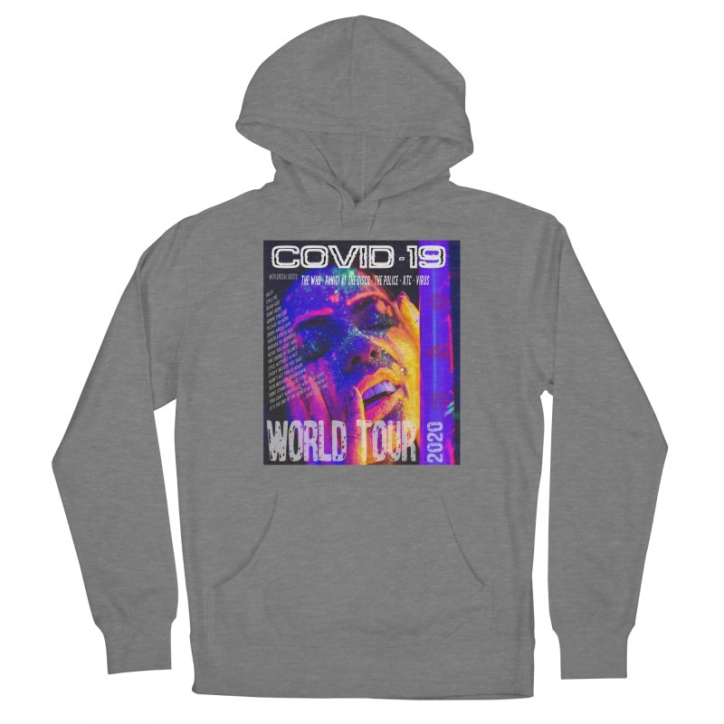 """""""COVID-19 World Tour 2020 with Rock's Greatest Hits"""" by dontpanicattack!™ Women's Pullover Hoody by 3rd World Man"""