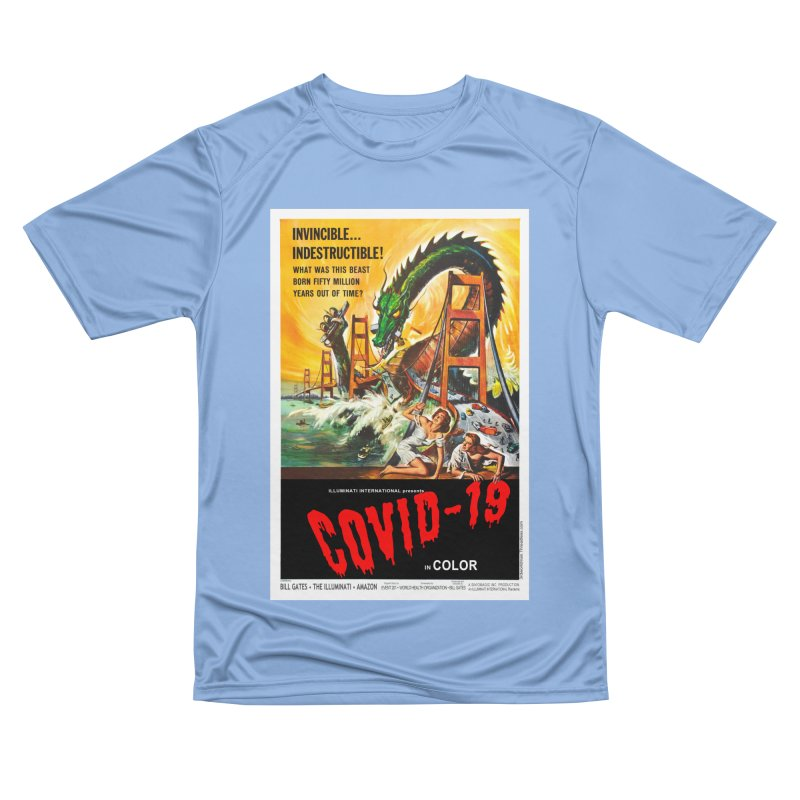 """""""Invincible, Indestructible – The Beast Covid-19"""" by dontpanicattack!™ Women's T-Shirt by 3rd World Man"""