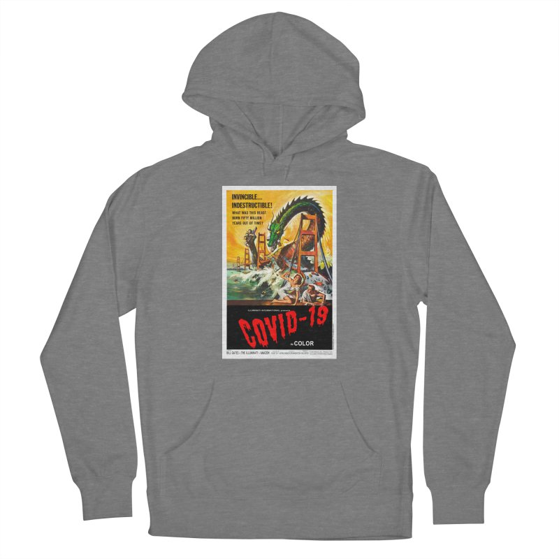 """""""Invincible, Indestructible – The Beast Covid-19"""" by dontpanicattack!™ Women's Pullover Hoody by 3rd World Man"""