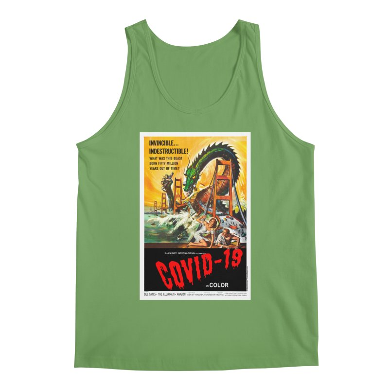 """""""Invincible, Indestructible – The Beast Covid-19"""" by dontpanicattack!™ Men's Tank by 3rd World Man"""