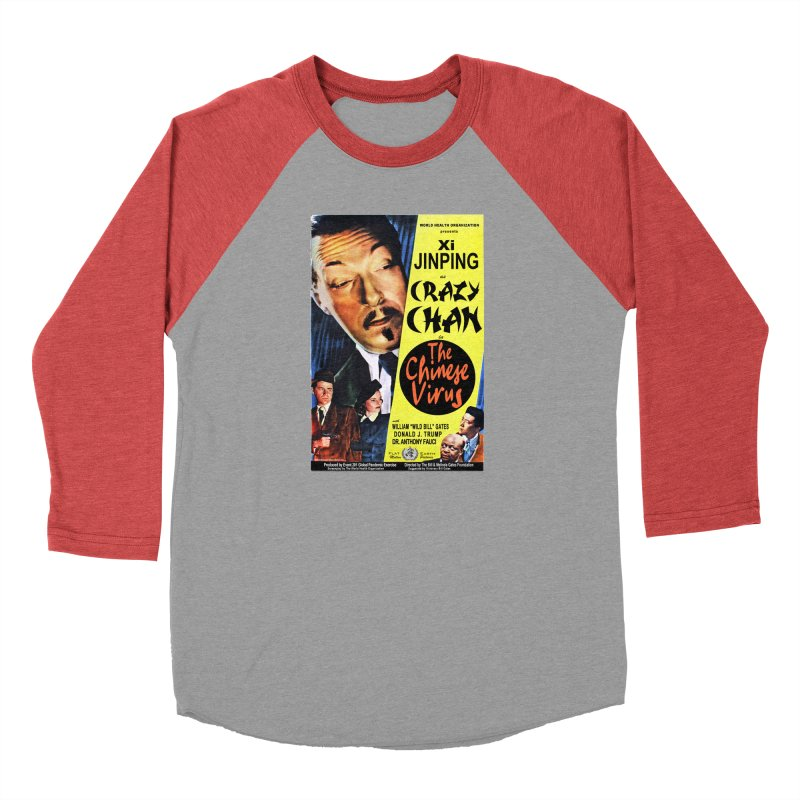 """""""WHO presents Xi Jinping as Crazy Chan in The Chinese Virus"""" by dontpanicattack!™ (rup) Men's Longsleeve T-Shirt by 3rd World Man"""