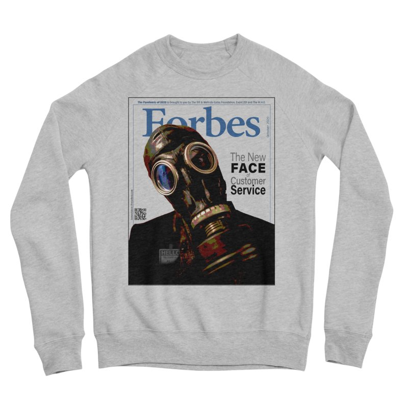 """""""The New Face Of Customer Service"""" by dontpanicattack™ Women's Sweatshirt by 3rd World Man"""