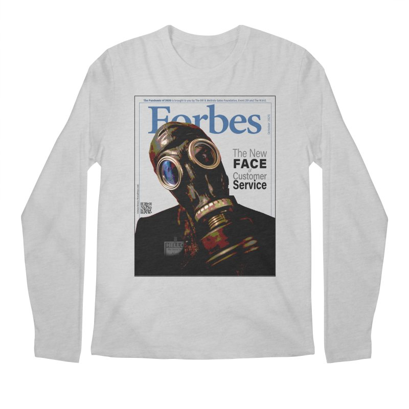"""""""The New Face Of Customer Service"""" by dontpanicattack™ Men's Longsleeve T-Shirt by 3rd World Man"""