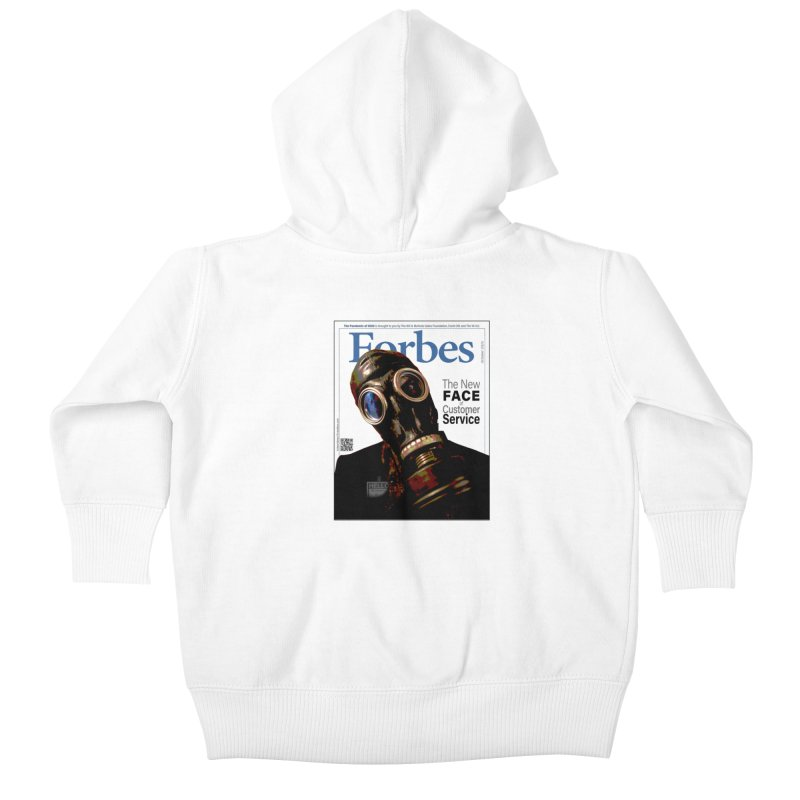 """""""The New Face Of Customer Service"""" by dontpanicattack™ Kids Baby Zip-Up Hoody by 3rd World Man"""