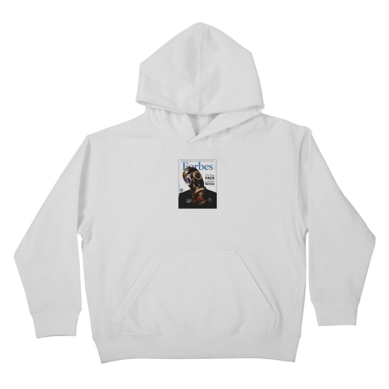 """The New Face Of Customer Service"" by dontpanicattack™ Kids Pullover Hoody by 3rd World Man"
