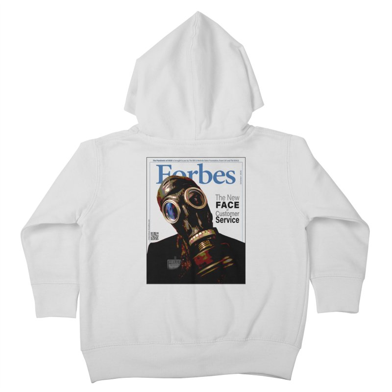 """""""The New Face Of Customer Service"""" by dontpanicattack™ Kids Toddler Zip-Up Hoody by 3rd World Man"""