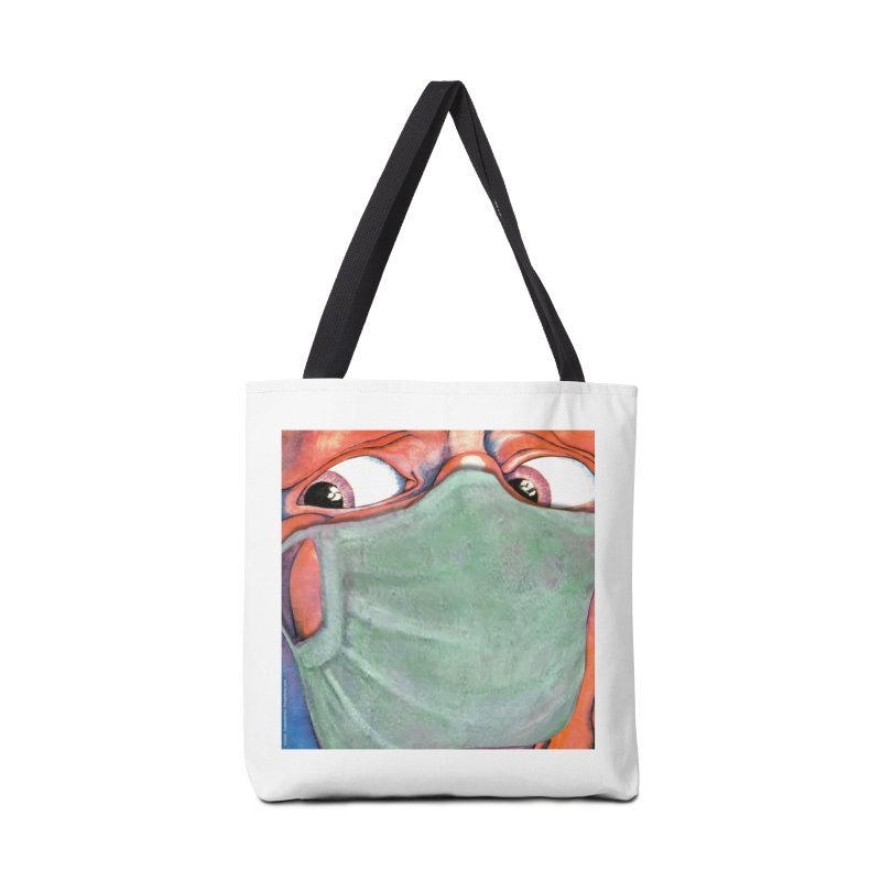 """""""In The Court Of The Masked King"""" a King Crimson tribute for the Pandemic of 2020 by dontpanicattack Accessories Bag by 3rd World Man"""