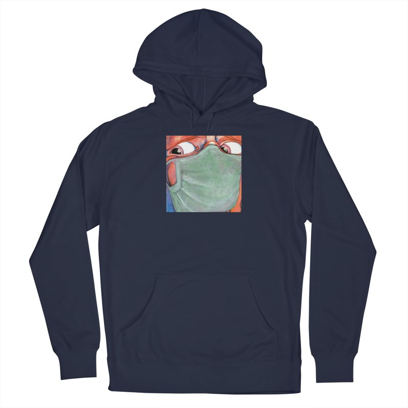 """""""In The Court Of The Masked King"""" a King Crimson tribute for the Pandemic of 2020 by dontpanicattack Men's Pullover Hoody by 3rd World Man"""