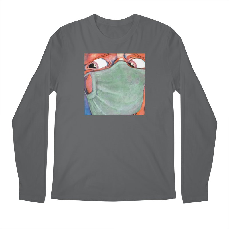 """""""In The Court Of The Masked King"""" a King Crimson tribute for the Pandemic of 2020 by dontpanicattack Men's Longsleeve T-Shirt by 3rd World Man"""