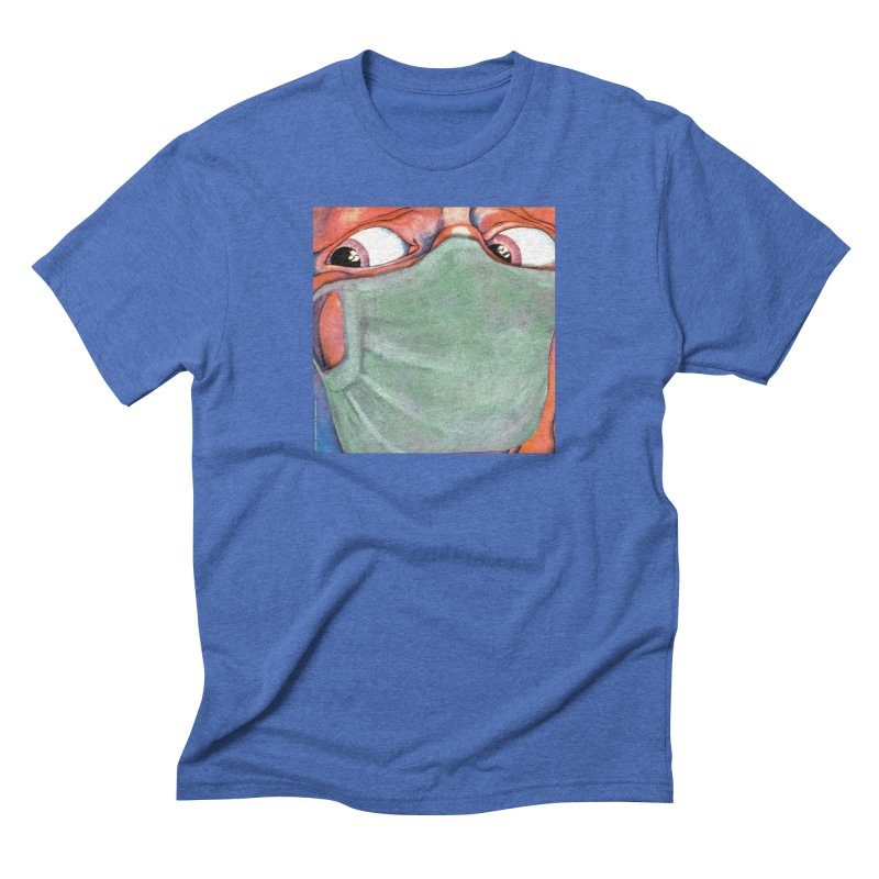 """""""In The Court Of The Masked King"""" a King Crimson tribute for the Pandemic of 2020 by dontpanicattack Men's T-Shirt by 3rd World Man"""