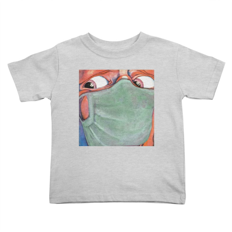 """""""In The Court Of The Masked King"""" a King Crimson tribute for the Pandemic of 2020 by dontpanicattack Kids Toddler T-Shirt by 3rd World Man"""