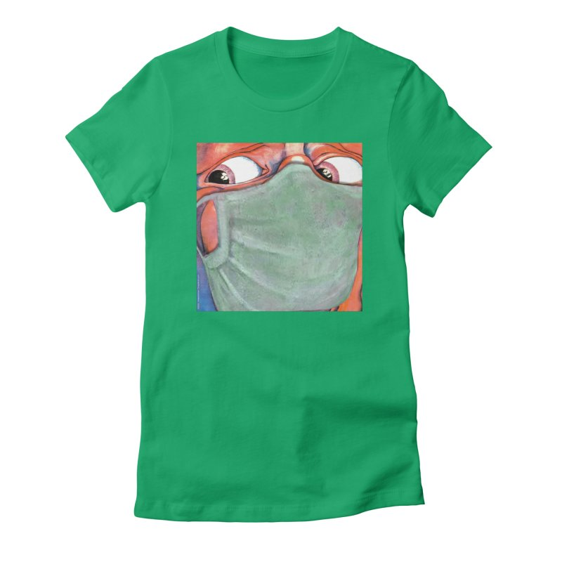 """""""In The Court Of The Masked King"""" a King Crimson tribute for the Pandemic of 2020 by dontpanicattack Women's T-Shirt by 3rd World Man"""