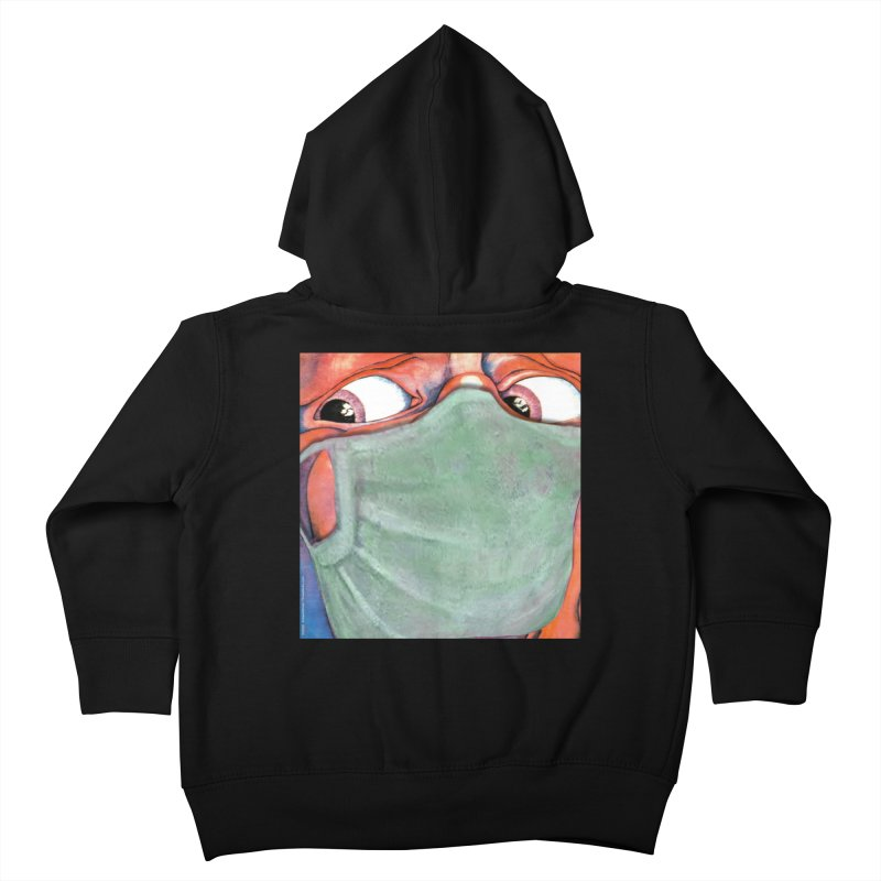 """""""In The Court Of The Masked King"""" a King Crimson tribute for the Pandemic of 2020 by dontpanicattack Kids Toddler Zip-Up Hoody by 3rd World Man"""