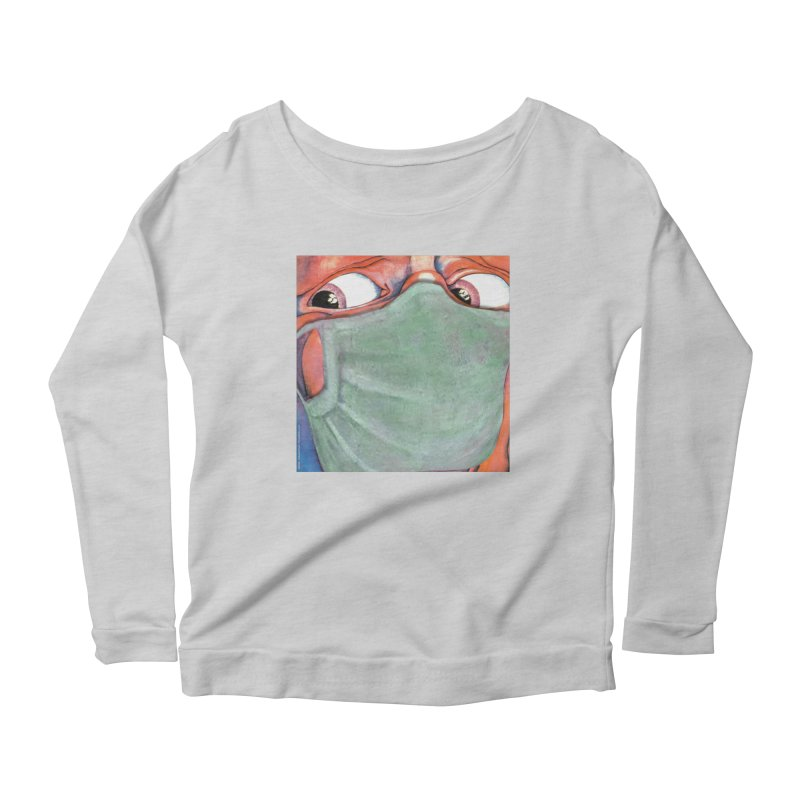 """""""In The Court Of The Masked King"""" a King Crimson tribute for the Pandemic of 2020 by dontpanicattack Women's Longsleeve T-Shirt by 3rd World Man"""