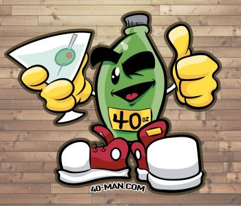 40man's Artist Shop Logo