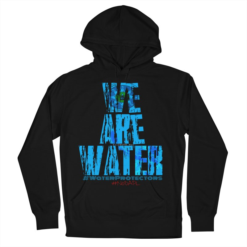we are water Men's French Terry Pullover Hoody by Online Store