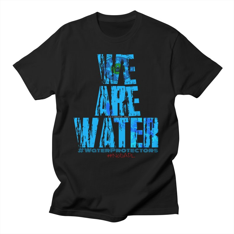 we are water in Men's T-shirt Black by Online Store